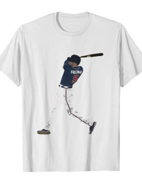 Freddie freeman 5 atlanta braves baseball team player shirt