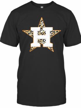 Houston Astros Leopard T-Shirt