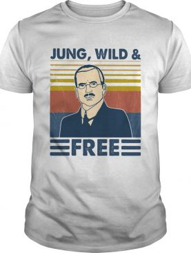 Jung wild and free vintage retro shirt