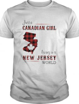 Just a canadian girl living in a new jersey world map shirt