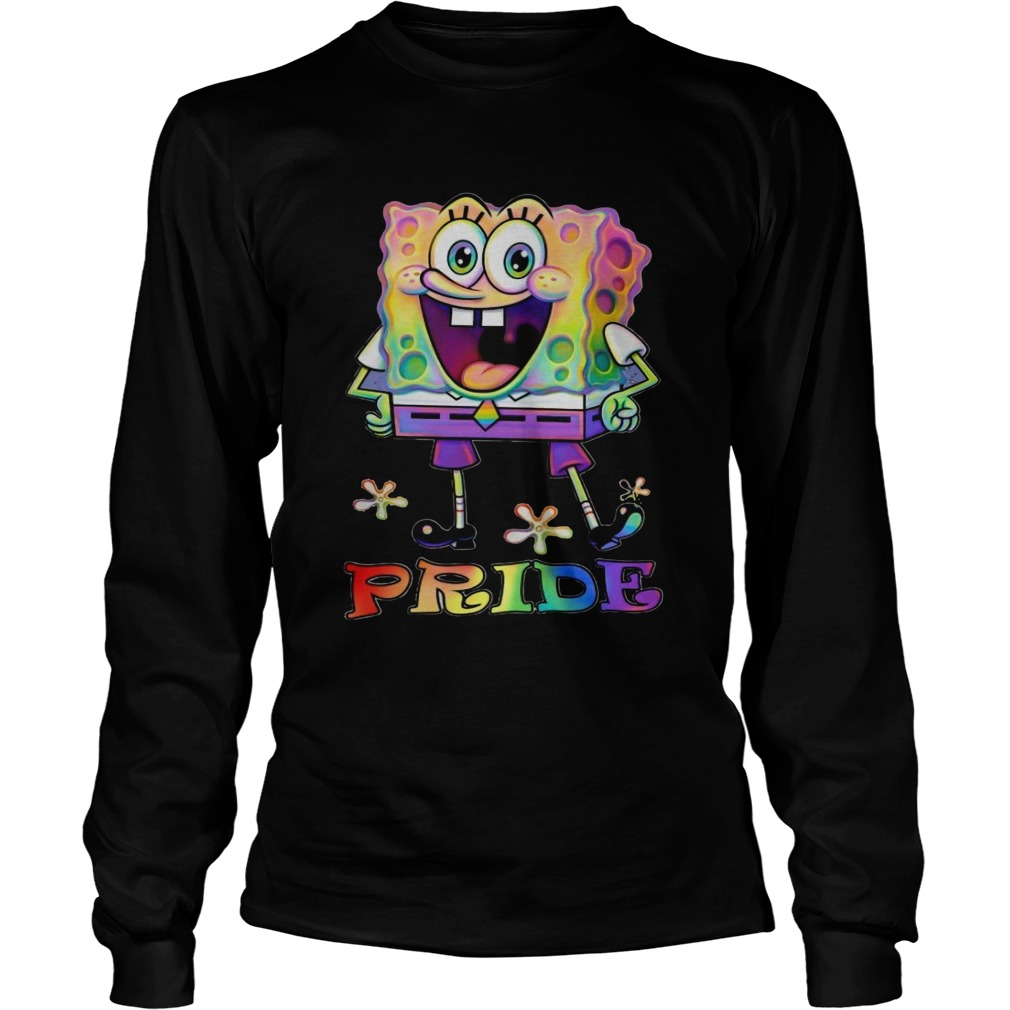 LGBT Pride SpongeBob SquarePants  Long Sleeve