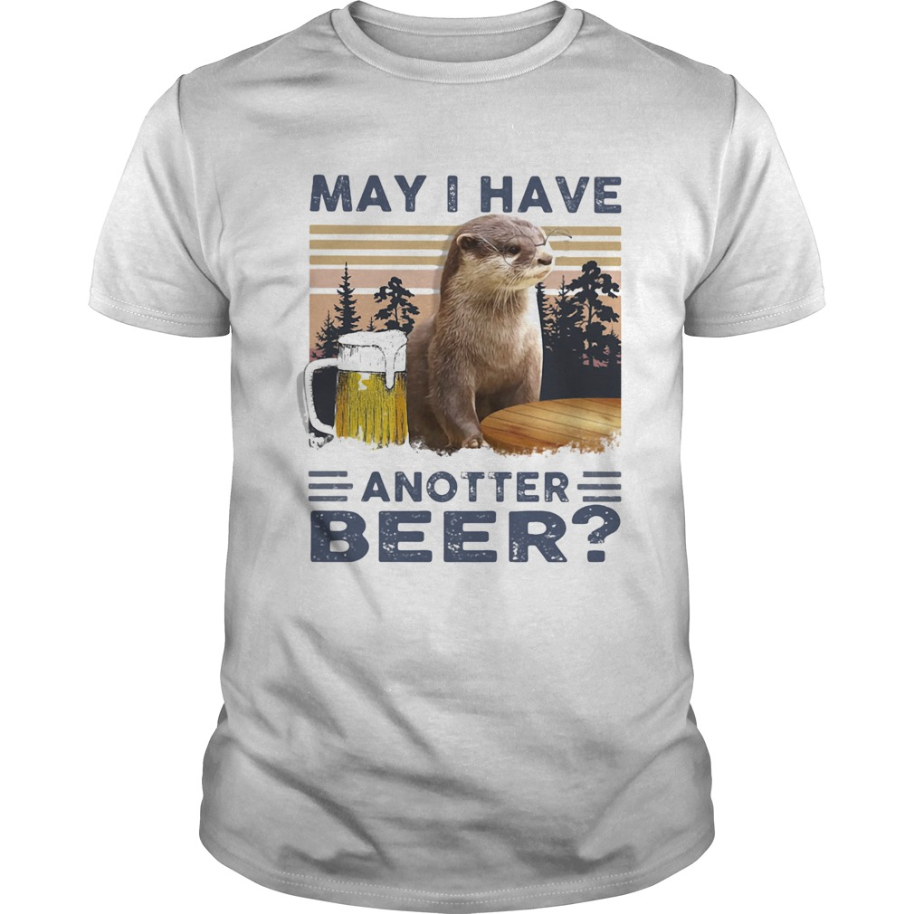 MAY I HAVE ANOTHER BEER SQUIRREL VINTAGE RETRO  Unisex