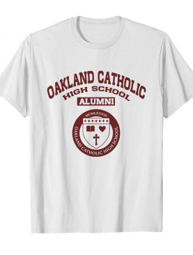 Oakland catholic high school alumni logo shirt
