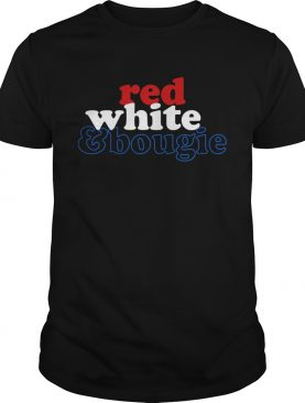 Red White Bougie Independence Day shirt