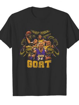 Snake mamba forever goat kobe bryant los angeles lakers basketball team shirt