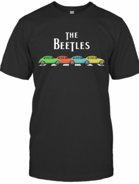 The Beatles Abbey Road Cars T-Shirt