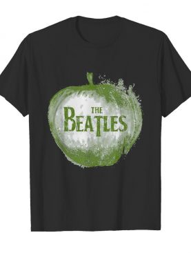 The beatles apple logo shirt