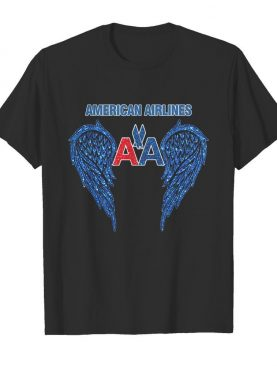 The wings american airlines logo diamond shirt
