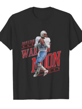Warren no.1 houston football moon shirt