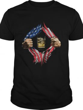 Blood insides nikola tesla images american flag independence day shirt