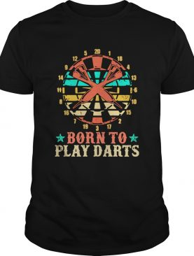 Born To Play Darts Stars shirt