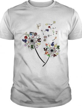 Cartoon Dandelion Flower shirt