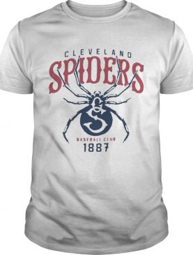 Cleveland spiders baseball club 1887 shirt
