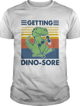 Getting Dinosore Trex Fitness Vintage shirt