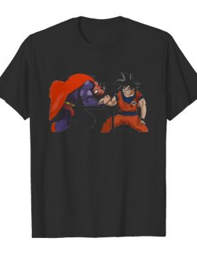 Goku vs Superman Arm-Wrestling shirt