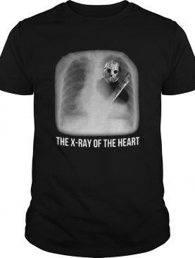 Halloween michael myers the xray of the heart shirt