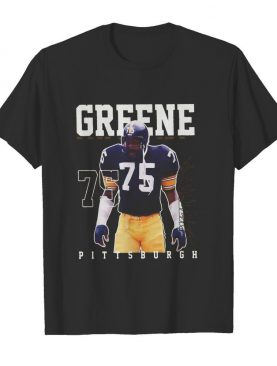Mean greene 75 pittsburgh football player shirt