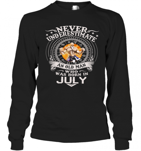 Never Underestimate An Old Man Who Was Born In February – Master Roshi T-Shirt Long Sleeved T-shirt
