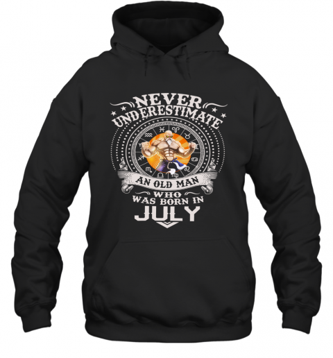 Never Underestimate An Old Man Who Was Born In February – Master Roshi T-Shirt Unisex Hoodie