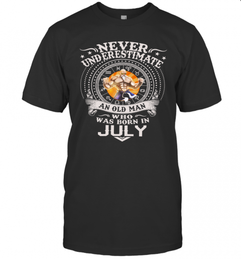Never Underestimate An Old Man Who Was Born In February – Master Roshi T-Shirt Classic Men's T-shirt
