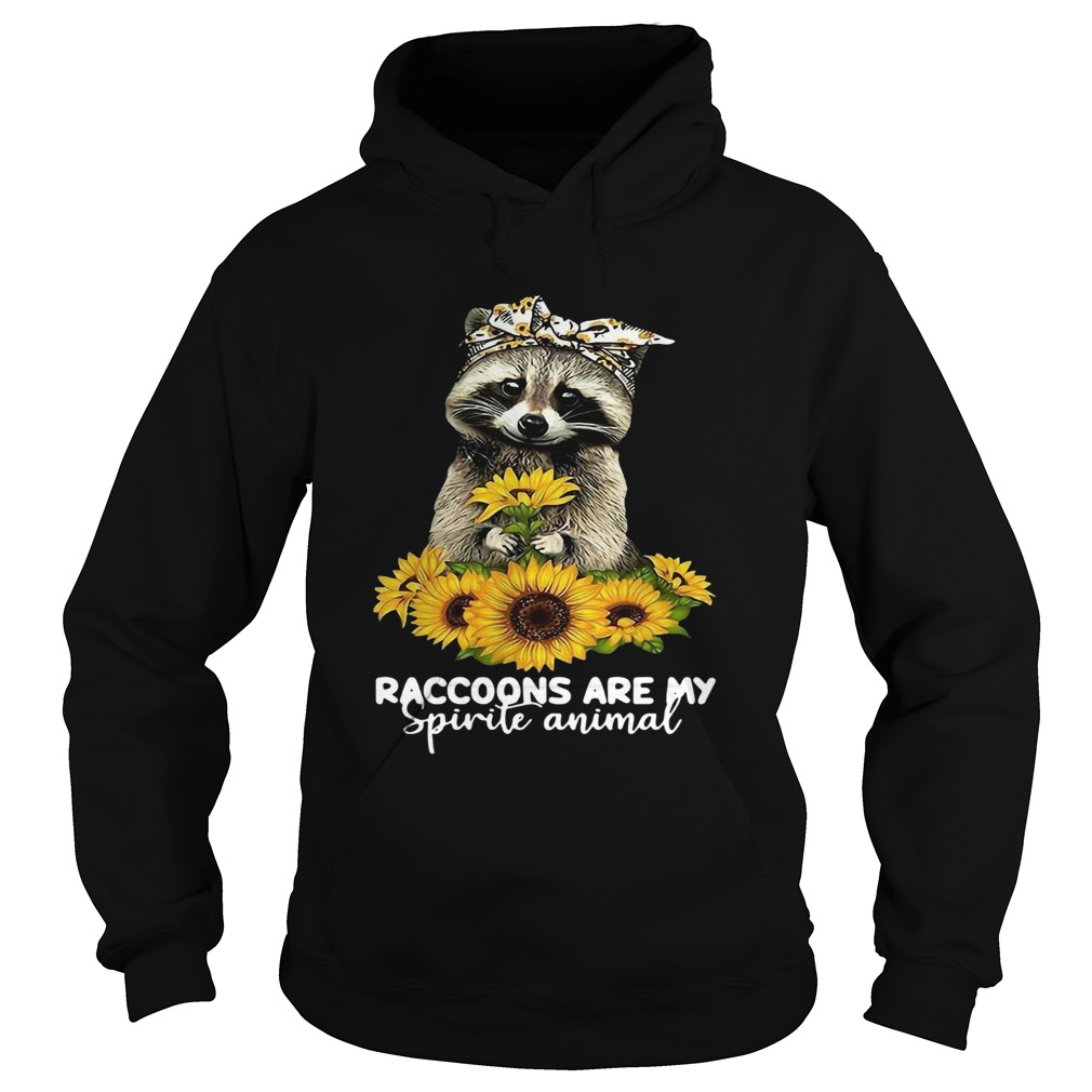 Raccoons Are My Spirit Animals  Hoodie
