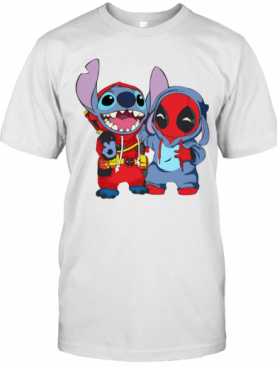 Stitch And Deadpool T-Shirt