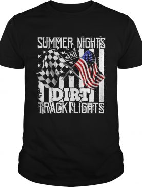 Summer Dirt Track Racing Motocross shirt