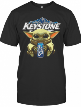 Yoda Baby Hugs Keystone Light T-Shirt