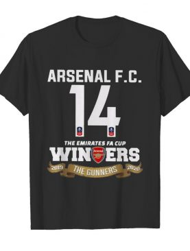 Arsenal Fc 14 The Emirates Fa Cup Winners 2019 The Gunners 2020 shirt