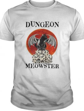 Bat And Black Cat Dungeon Meowster shirt