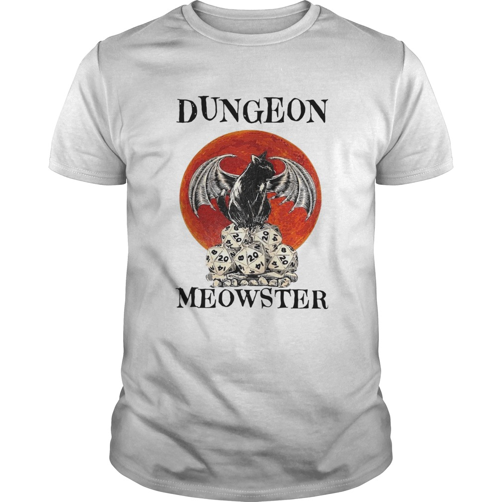 Bat And Black Cat Dungeon Meowster  Unisex