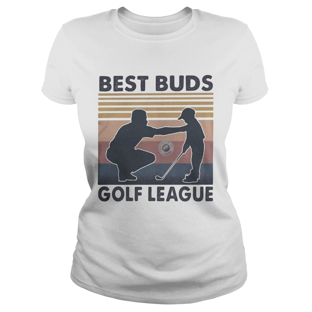 Best buds golf league vintage retro  Classic Ladies