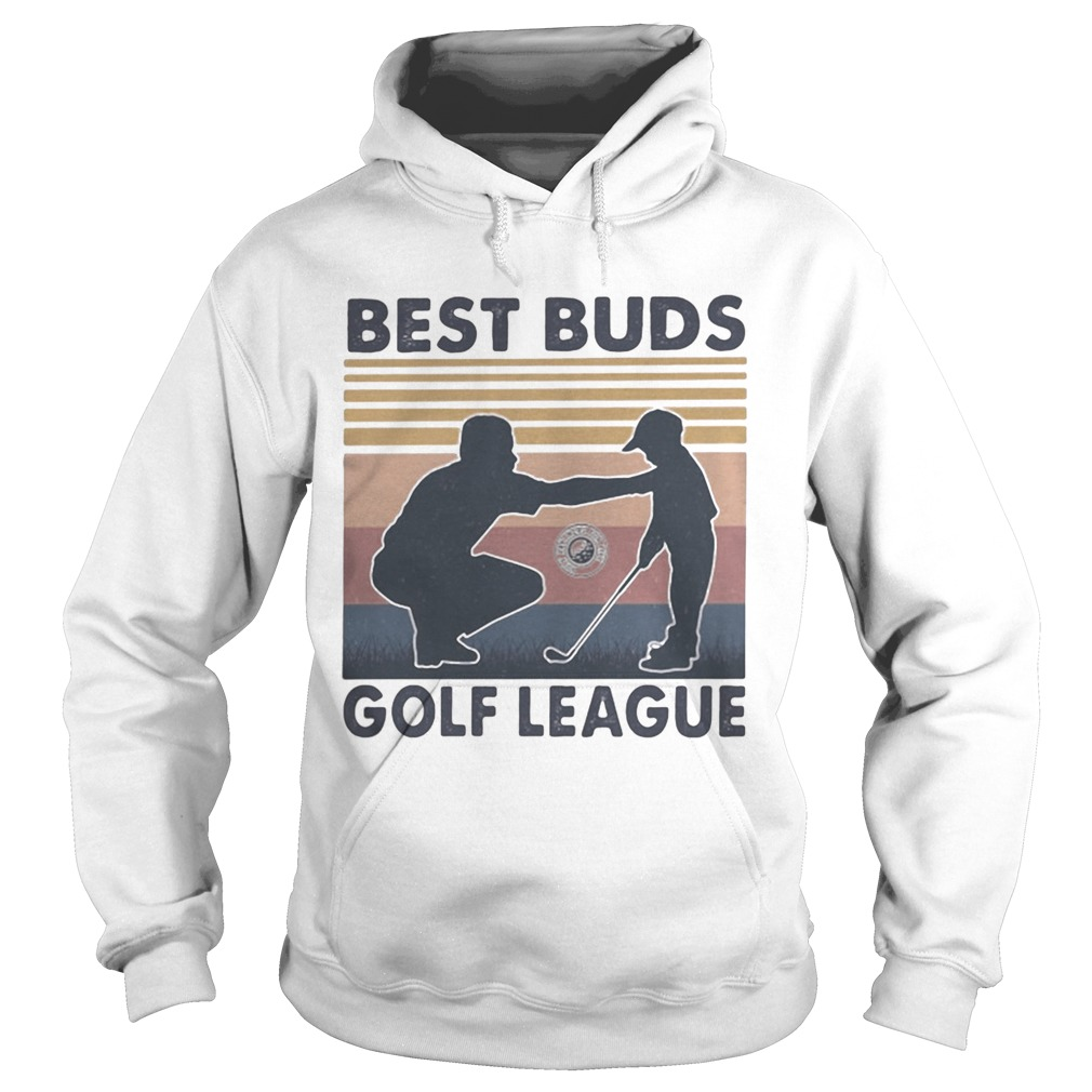 Best buds golf league vintage retro  Hoodie