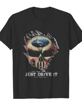 Blood insides skull ford just drive it shirt