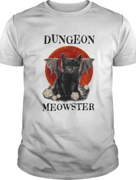 Cat dungeon meowster moonblood shirt