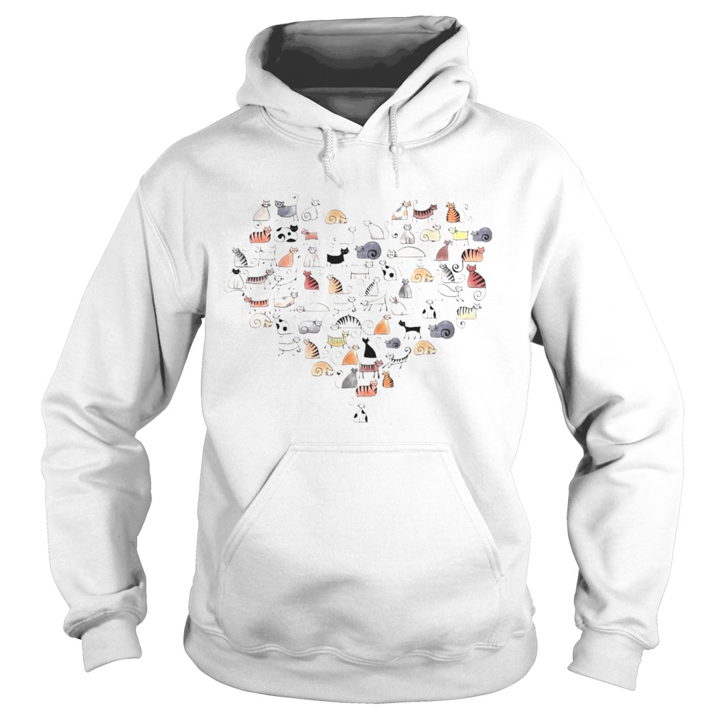 Cats In The Heart  Hoodie