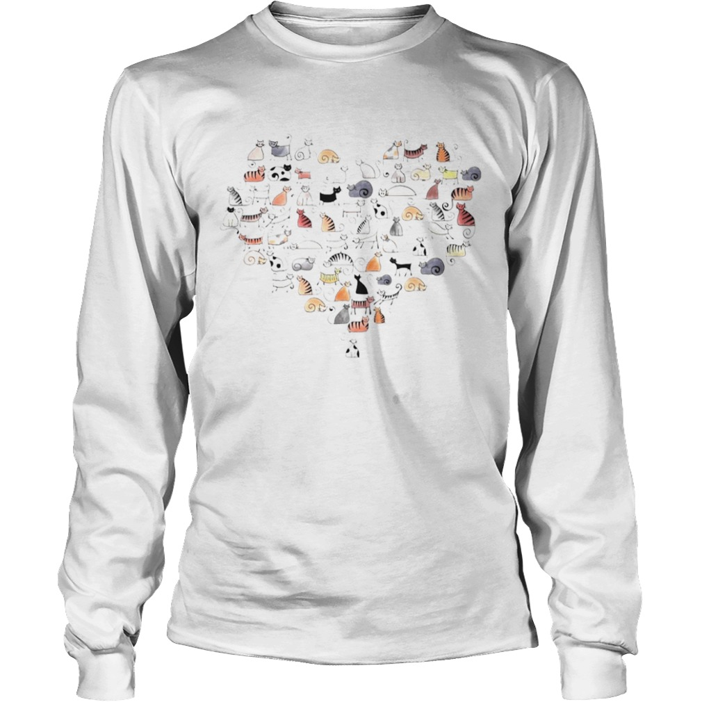 Cats In The Heart  Long Sleeve