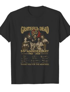Grateful Dead Anniversary Thank You For The Memories shirt