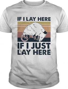 If i lay here if i just lay here vintage retro shirt