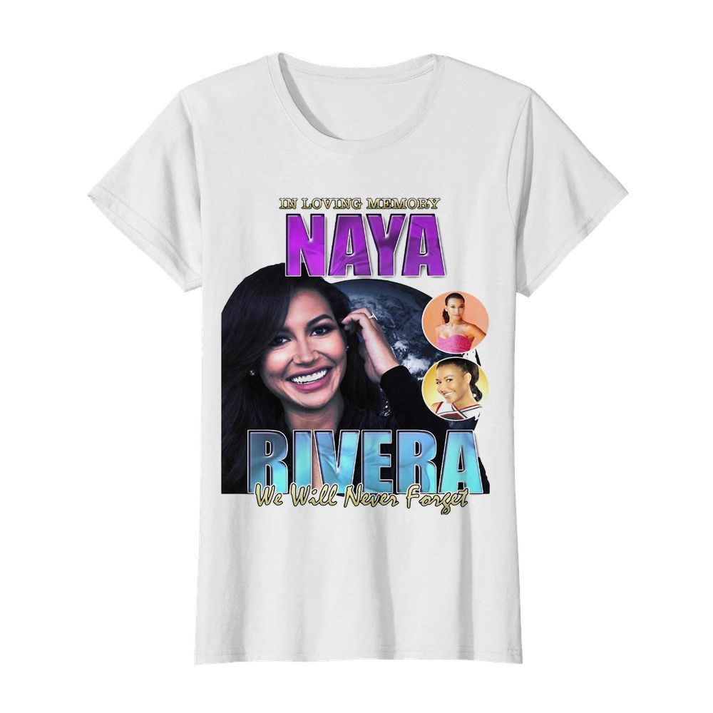 In loving memory naya rivera we will never forget  Classic Women's T-shirt