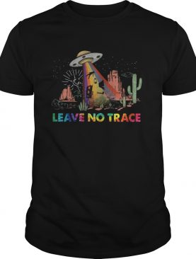 Leave no trace Camping UFO shirt