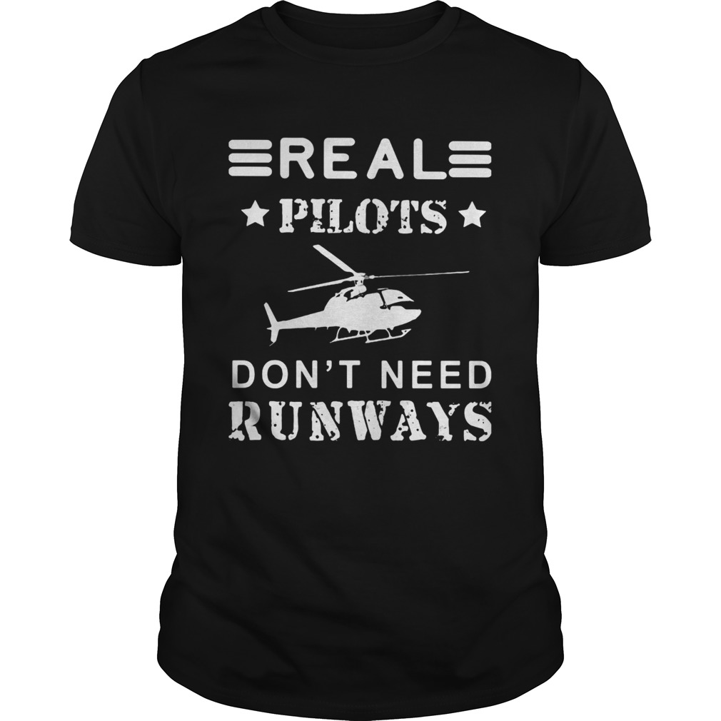 Real pilots dont need runways  Unisex