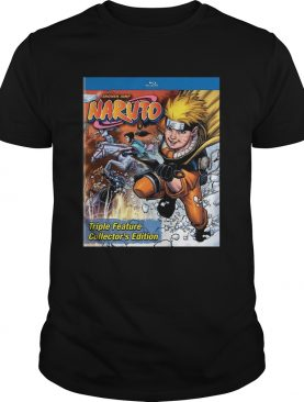 Shonen Jump Naruto Triple Feature Collectors Edition shirt