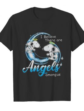 Snoopy i believe there are angels among us shirt