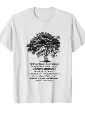 The Beatles There Are Places I'll Remember Some Forever Not For Better Signatures shirt