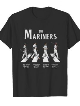 The Mariners Abbey Road Signatures shirt