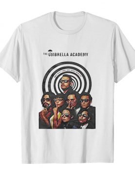 The umbrella academy band members shirt
