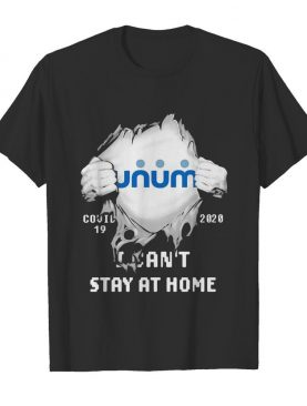 Unum I can't stay at home Covid-19 2020 superman shirt