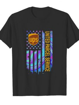Ups united parcel service american flag independence day shirt