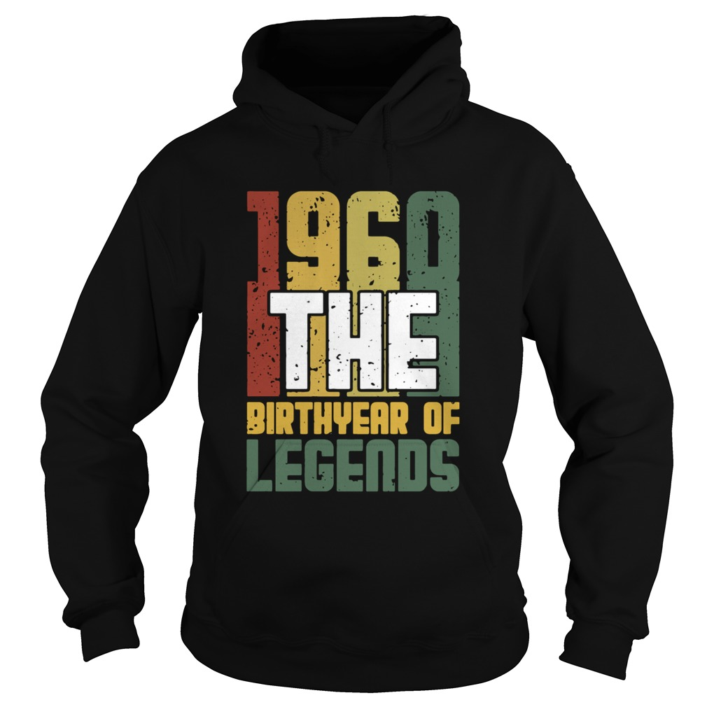 1960 The Birthyear Of Legends Vintage  Hoodie